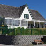 Review Bangunan Museum Baranov Alaska